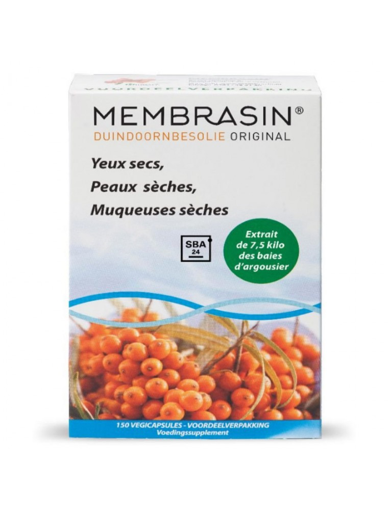 Membrasin Omega 7 - Baies d'Argousier 150 capsules végétales - Aromatech