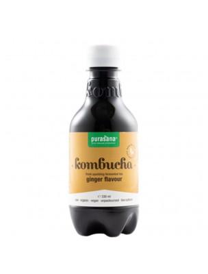 Image de Kombucha Gingembre Bio - Détox 330 ml - Purasana depuis ▷ Véritable Elixir du Suédois Bio en Spray - Dépuratif Tonique