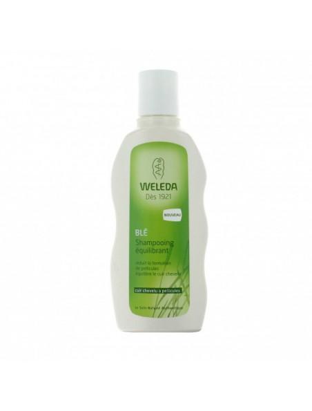 Shampoing Equilibrant au blé - Cuir chevelu à pellicules 190 ml - Weleda