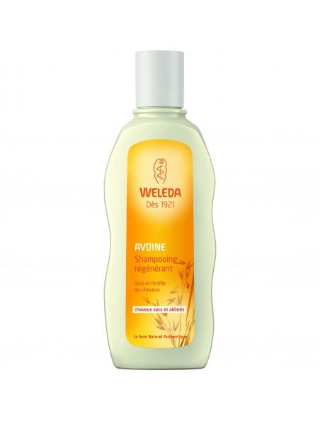 Shampoing Régénérant à l'avoine - Cheveux secs et abîmés 190 ml - Weleda