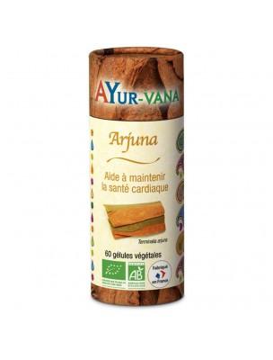 Arjuna Bio - Santé Cardio-Vasculaire 60 gélules - Ayur-Vana