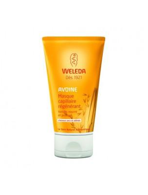 Masque Capillaire Régénérant à l'avoine - Cheveux secs et abîmés 150 ml - Weleda