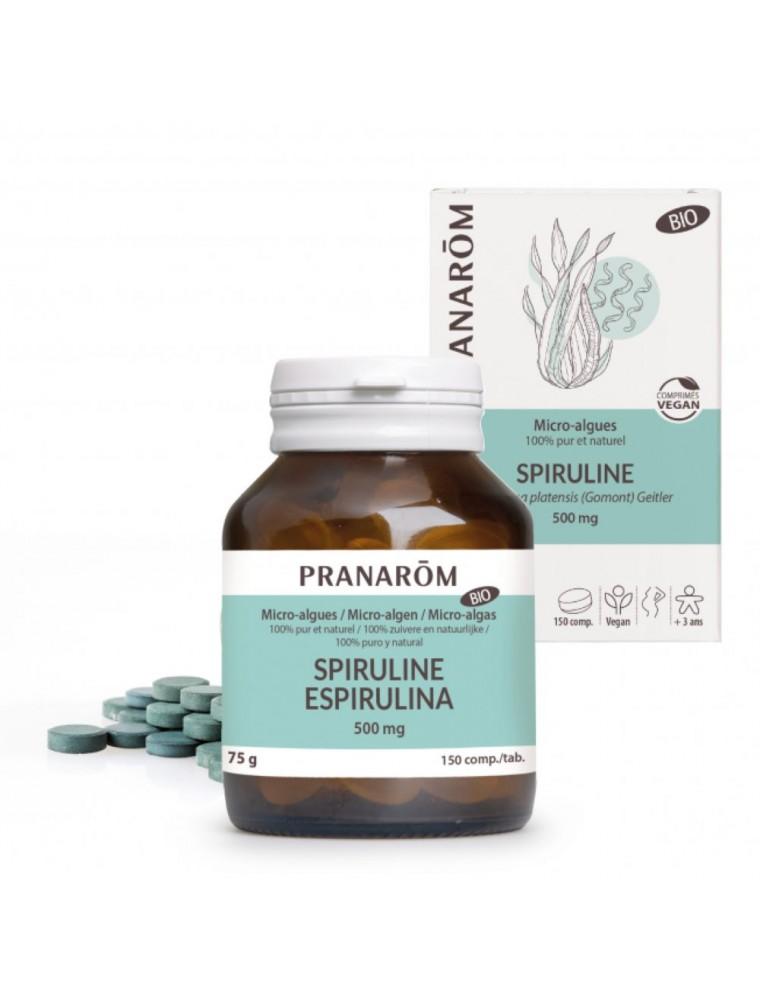Spiruline Bio - Revitalisant 150 comprimés - Pranarôm