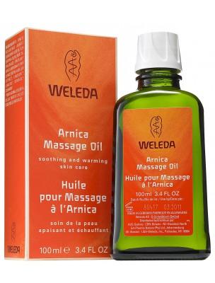 Huile de Massage à l'Arnica - Réchauffe et détend les muscles 100 ml - Weleda