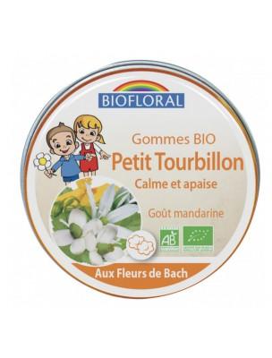 Image de Petit Tourbillon Bio - Fleurs de Bach pour les Enfants Gommes 45g - Biofloral depuis Rescue de Bach, mélange de cinq solutions en cas d'urgence (3)