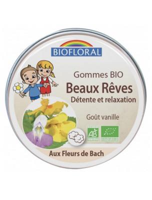 Image de Beaux rêves Bio - Fleurs de Bach pour les enfants Gommes 45g - Biofloral depuis Biofloral à l'herboristerie Louis