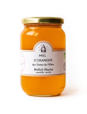 Miel d'Oranger Bio 480g - Miel Rare - Ballot-Flurin