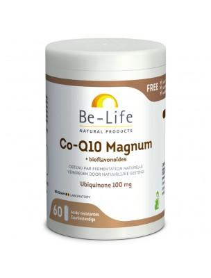 Co-Q10 Magnum - Antioxydant Ubiquinol 100 mg 60 gélules - Be-Life