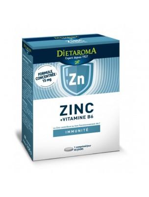Zinc Vitamine B6 - Immunité 60 comprimés - Dietaroma