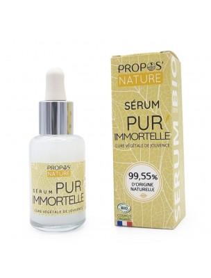 Pur Immortelle Bio - Sérum Visage 30 ml - Propos Nature