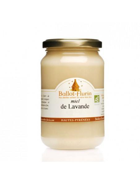 Miel de Lavande Bio 480g - Miel finement cristallisé, aux vertus millénaires - Ballot-Flurin