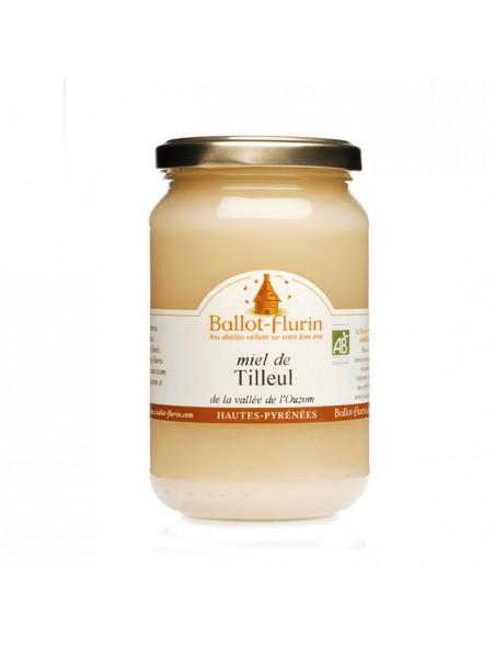 Miel de Tilleul Bio 480g - Parfumé et fleuri, nuit paisible, digestion - Ballot-Flurin