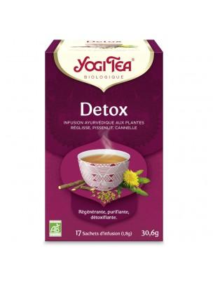Detox Bio - Détoxination des voies digestives 17 sachets - Yogi Tea