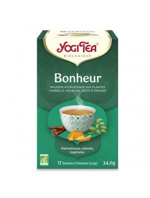 Image de Bonheur - Remonte le moral 17 sachets - Yogi Tea depuis Thés en infusettes pour un dosage et un transport facilité