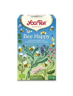 Bee Happy Bio - Infusion Ayurvédique 17 sachets - Yogi Tea