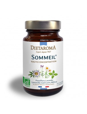 Sommeil Bio - Endormissement et Sommeil 60 comprimés - Dietaroma