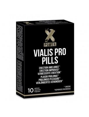Vialis Pro Pills - Erection et Retardant 10 gélules - LaboPhyto