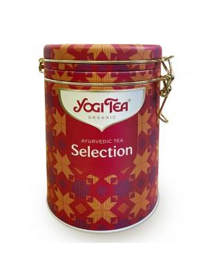 Image de Ayurvédic Collection Bio - Boîte Métallique de 30 sachets - Yogi Tea depuis Thés et infusions