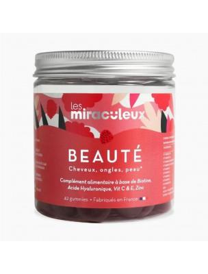 Gummies Beauté - Peau, Cheveux et Ongles 42 Gummies - Les Miraculeux