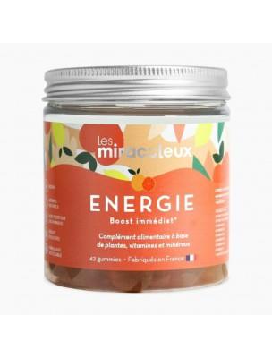Gummies Energie - Fatigue Physique et Mentale 42 Gummies - Les Miraculeux