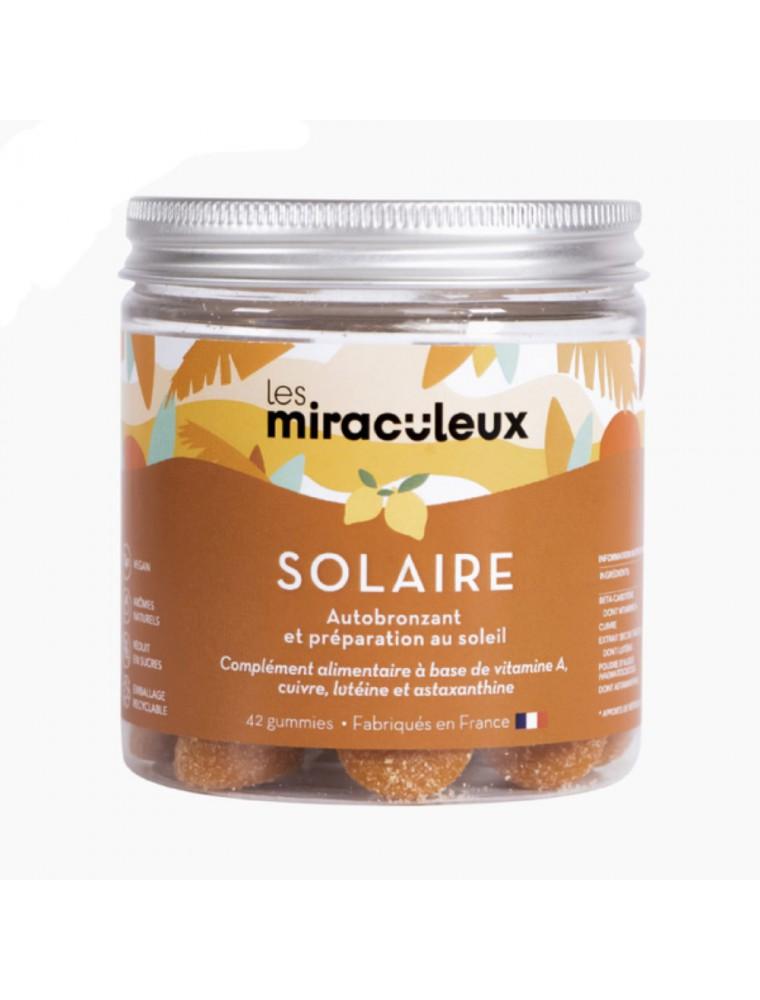 Gummies Solaire - Autobronzant et Préparation solaire 42 Gummies - Les Miraculeux