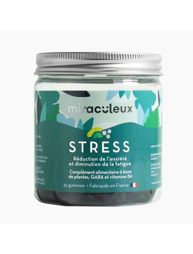 Gummies Stress - Stress et Relaxation 42 Gummies - Les Miraculeux