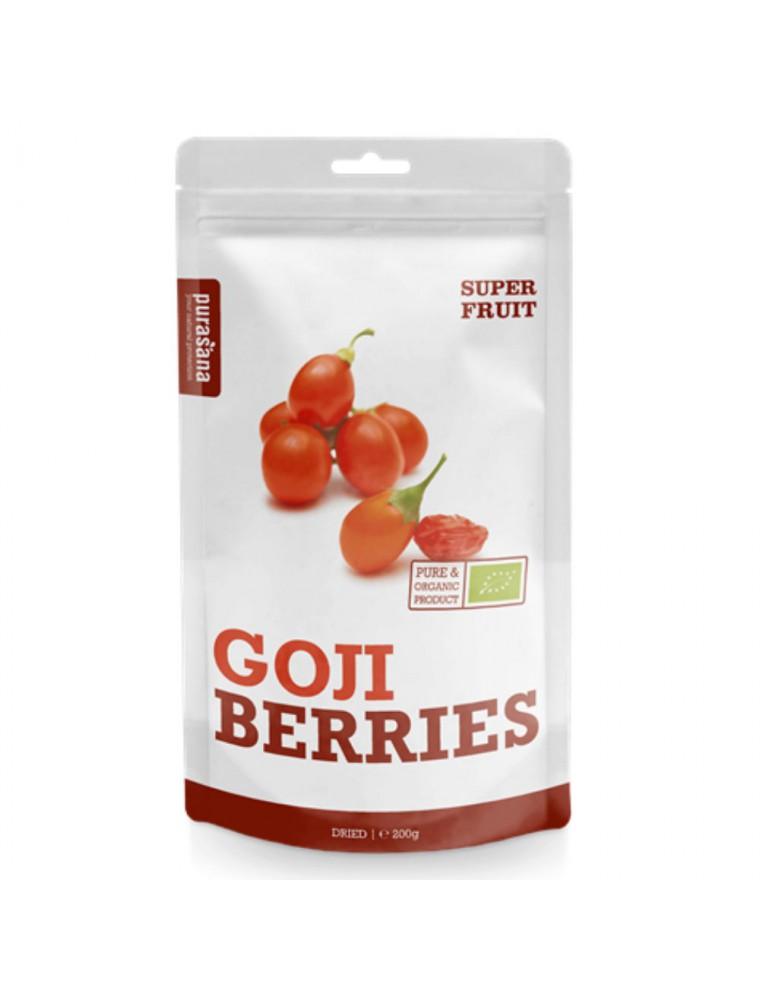 Goji Bio - Vitalité Fruits séchés 200 g - Purasana