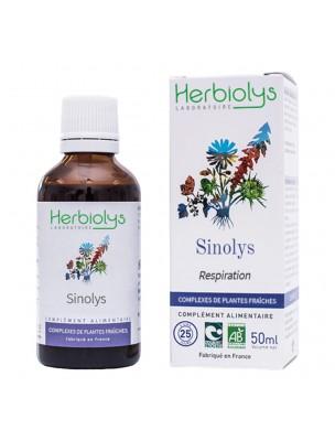 Image de Sinolys Bio - Respiration Extrait de plantes fraîches 50 ml - Herbiolys depuis ▷ ToniGEM GC16 Bio - Tonus et Vitalité 15 ml -