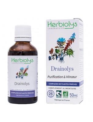 Image de Drainolys Bio - Purification et Minceur Extrait de plantes fraîches 50 ml - Herbiolys depuis ▷ ToniGEM GC16 Bio - Tonus et Vitalité 15 ml -