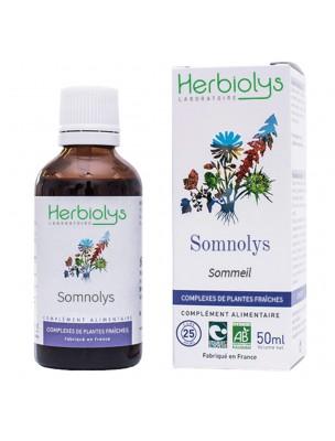 Somnolys Bio - Sommeil Extrait de plantes fraîches 50 ml - Herbiolys