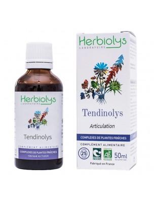 Tendinolys Bio - Articulation Extrait de plantes fraîches 50 ml - Herbiolys