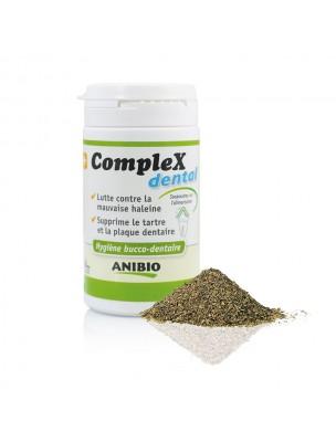 Image de CompleX Dental - Plaque dentaire, Tartre et Haleine des chiens et des chats 60 g - AniBio depuis AniBio à l'herboristerie Louis