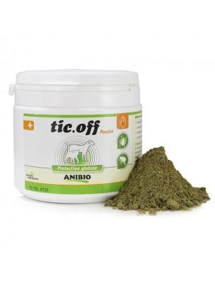 Tic-off en poudre - Protection tiques et puces 290 g - AniBio
