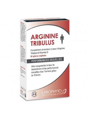 Arginine Tribulus - Sexualité et Musculature 60 gélules - LaboPhyto