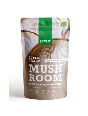 Image de Mushroom Mix Bio - Vitalité Superfoods 200 g - Purasana depuis ▷ Citronnelle Bio - Feuilles coupées 100g - Tisane Cymbopogon