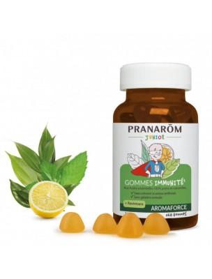 Image de Gommes Immunité Junior - Aromaforce 150g - Pranarôm depuis ▷ Pranabb Huile de massage - Défenses naturelles des bébés 10 ml -