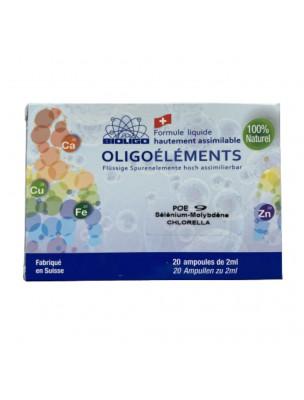 Image de POE N°9 Chlorella et Oligo - Détoxification 20 ampoules - Bioligo depuis ▷ Ail des ours Bio - Circulation Teinture-mère d'Allium ursinum 50