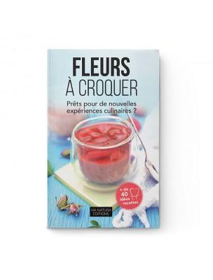 Image de Fleurs à croquer - Livre de Recettes - Aromandise via Acheter Sea Aquacell's - Livret de 44 Recettes - CSBS