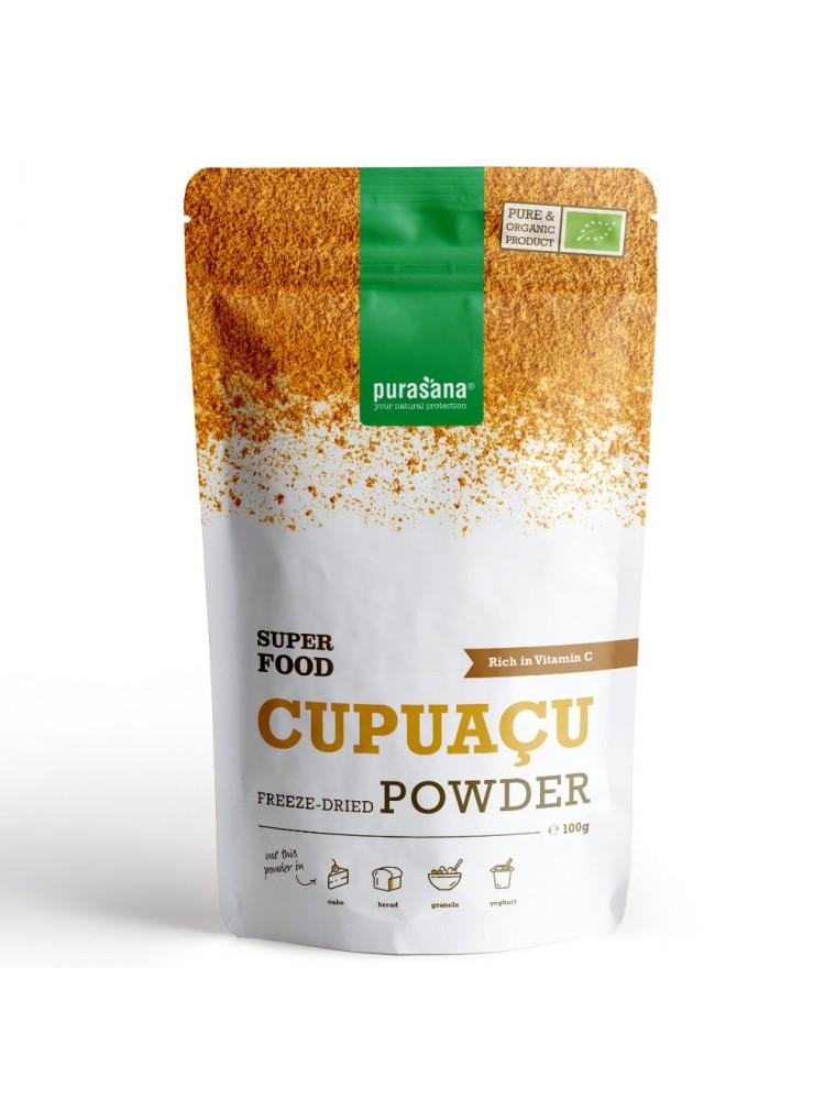 Cupuaçu Bio - Vitalité Superfoods 100 g - Purasana