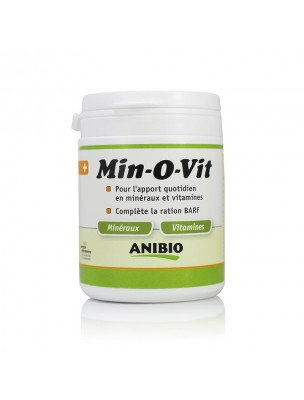 Image de Min-O-Vit - Vitamines et Minéraux pour chiens et chats 130 g - AniBio depuis Acheter Méditation - Encens et Nard Les Diffusables 30ml -