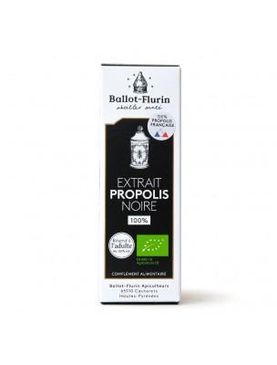 Image de Extrait de Propolis Noire française 100% - Puissant soin multifonction - Ballot-Flurin via Acheter Savon Propolis Noire Bio - Hygiène renforcée 100 g -