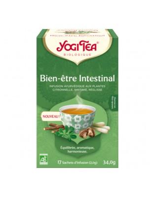 Image de Bien-être Intestinal Bio - Infusion Ayurvédique 17 sachets - Yogi Tea depuis Acheter Méditation - Encens et Nard Les Diffusables 30ml -