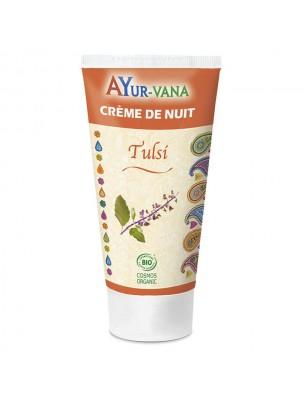 Image de Tulsi Bio - Crème de Nuit Visage 75ml - Ayur-Vana depuis Acheter Méditation - Encens et Nard Les Diffusables 30ml -