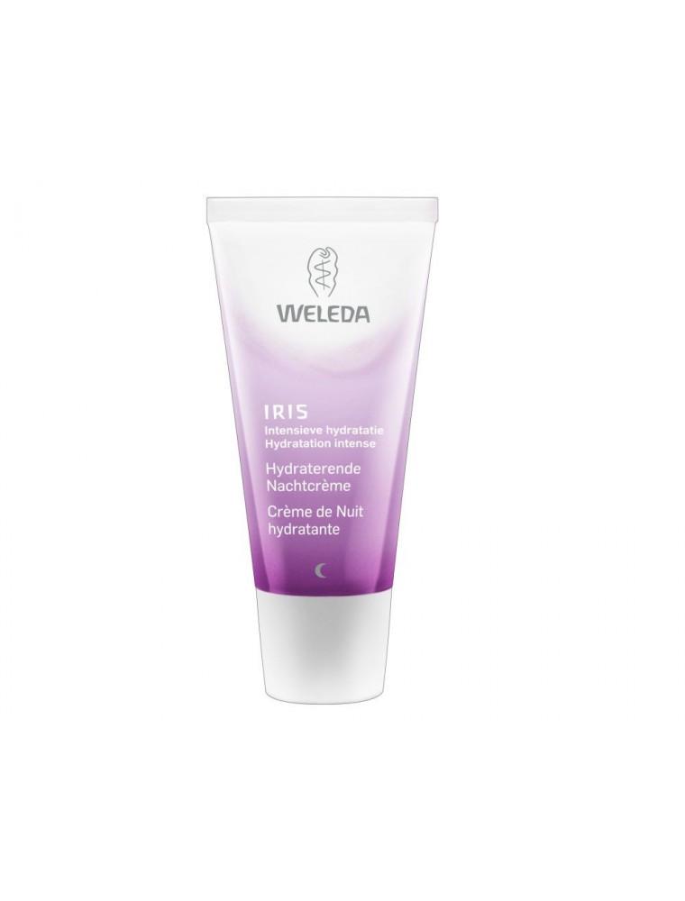 Crème de Nuit hydratante à l'Iris - Régénère et nourrit la peau 30 ml - Weleda