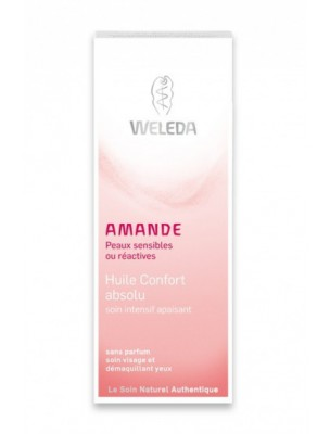 Huile Confort Absolu à l'Amande douce - Soin intensif apaisant 50 ml - Weleda