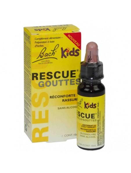 Rescue Remedy Kids en gouttes - Stress des enfants 10 ml - Fleurs de Bach Original