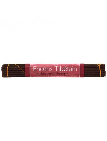 Prière encens traditionnel tibétains - 35 bâtonnets - Les Encens du Monde