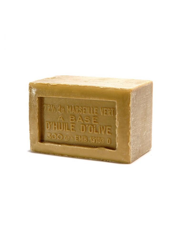 Savon de Marseille Bio extra pur vert à l'huile d'olive - Garanti 72% d'huile, pur végétal, 300g - Rampal Latour
