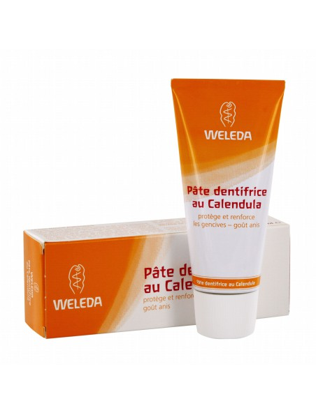 Dentifrice au Calendula - Protection naturelle contre les caries 75 ml - Weleda