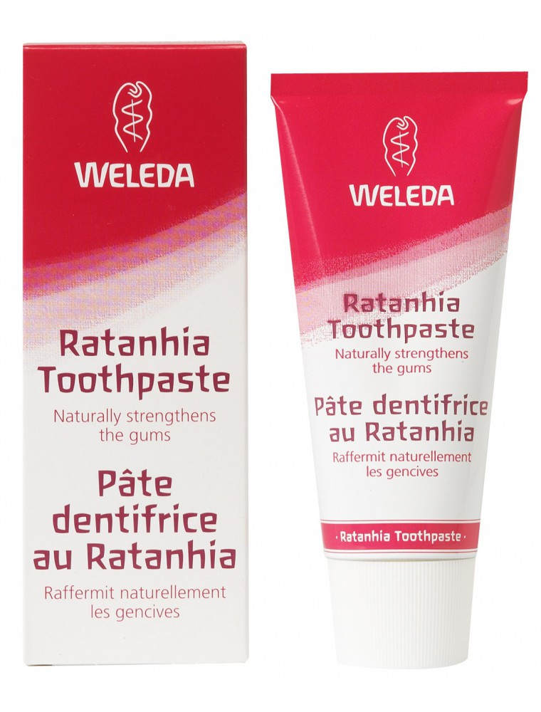 Dentifrice au Ratanhia - Renforcement naturel des gencives 75 ml - Weleda